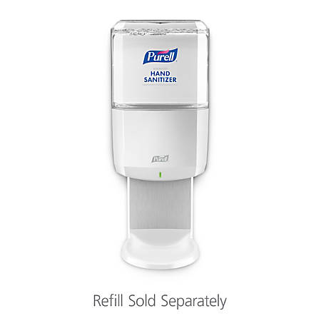 Purell® ES6 Wall-Mount Touchless Hand Sanitizer Dispenser, White