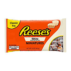 Reeses White Peanut Butter Cup Miniatures