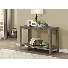 Monarch Specialties Console Table With Shelf