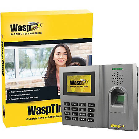 Wasp® Biometric Time and Attendance System