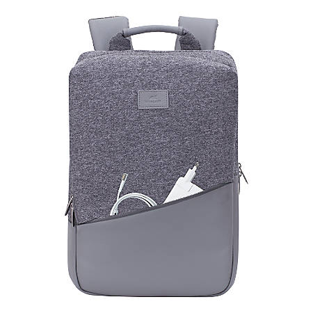 "RIVACASE Egmont 7960 Backpack For 15.6"" MacBook Pro Laptops, Gray"