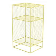 Zuo Modern Steel Shelf 3 Tier