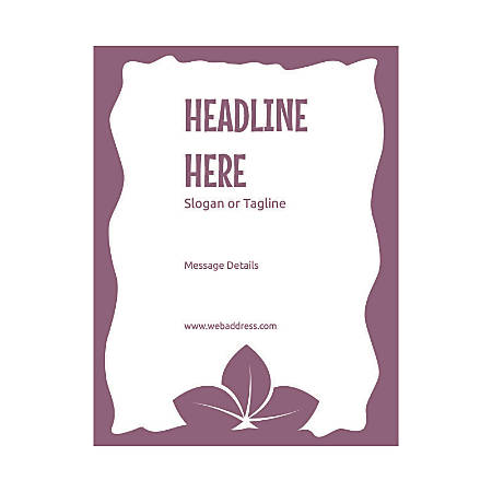 Custom Flyer, Vertical, Three Leaves