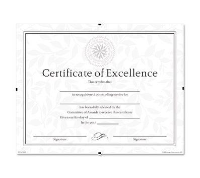 Dax Frameless Certificate Clip Frame 11 X 850 Frame Size Rectangle