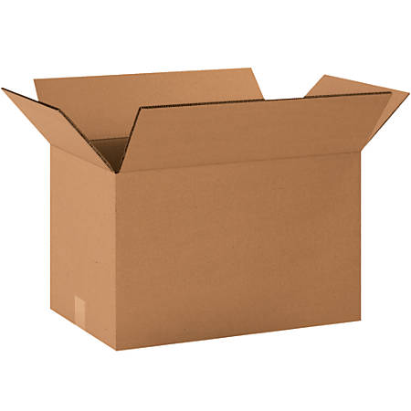 """Office Depot® Brand Double-Wall Corrugated Boxes, 8""""H x 8""""W x 16""""D, Kraft, Pack Of 15"""