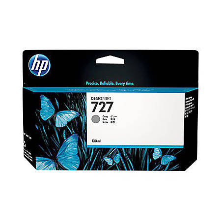 HP 727 - 300 ml - High Capacity - dye-based gray - original - DesignJet - ink cartridge - for DesignJet T1500, T1530, T2500, T2530, T920, T930