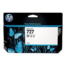HP 727 High Yield Gray Ink