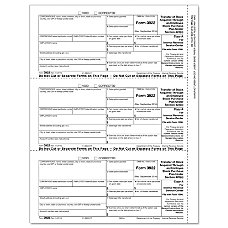 ComplyRight 3922 InkjetLaser Tax Forms Federal