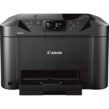 Canon MAXIFY MB5120 Inkjet Multifunction Printer - Color - Copier/Fax/Printer/Scanner - 600 x 1200 dpi Print - Automatic Duplex Print - 1200 dpi Optical Scan - 250 sheets Input - Ethernet - Wireless LAN - Mopria
