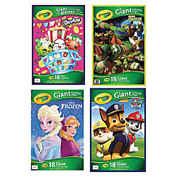 Crayola Giant Coloring Pages Assortment 18