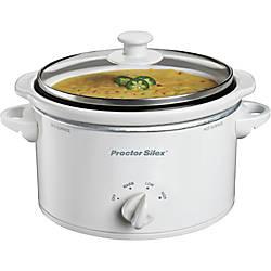 Proctor Silex 15 Quart Slow Cooker