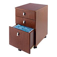 Realspace Mezza Mobile File Cabinet 28