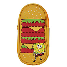 Nickelodeon SpongeBob Hamburger Pencil Pouch 3