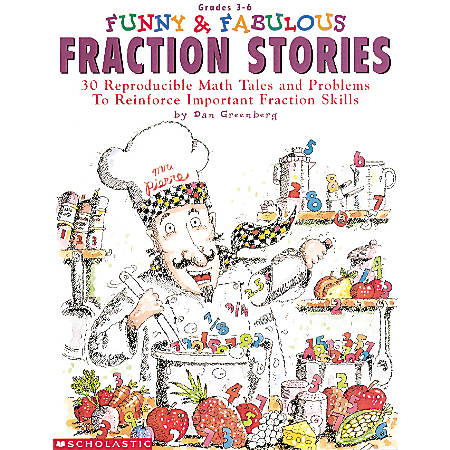 Scholastic Funny & Fab Fraction Stories