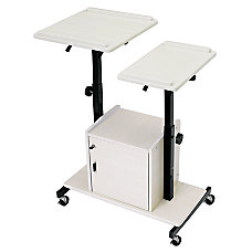 Oklahoma Sound Deluxe Presentation Cart BlackIvory