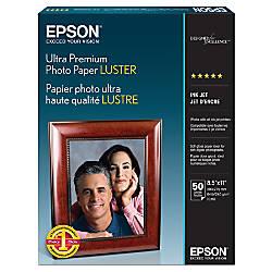 Epson Photo Paper Letter 8 12