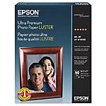 Epson Luster Photo Paper Letter Paper