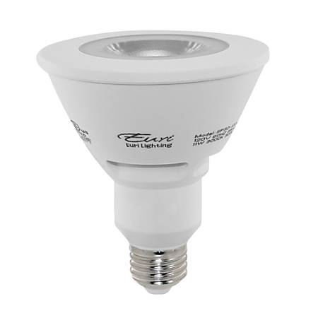 Euri PAR30 1000 Series Long Neck LED Flood Bulb, Dimmable, 900 Lumens, 11 Watt, 3000 Kelvin/Warm White, Pack Of 6 Bulbs
