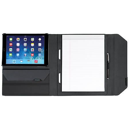 MobilePro® Series Executive Folio Case For Apple® iPad® Air/Air 2, Black/Gray