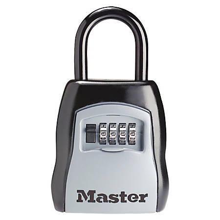 Master Lock® Portable Storage Lock, Black