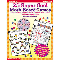 Scholastic Math Board Games