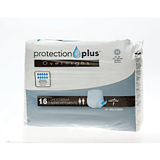 Protection Plus Overnight Protective Underwear Medium