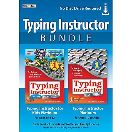 Typing Instructor Bundle, Download Version