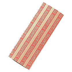 Coin Tainer Flat Tubular Coin Wrappers