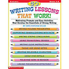 Scholastic 50 Writing Lessons