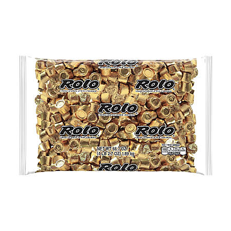 Rolo Chewy Caramels, 4.1-Lb Bag
