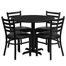 Flash Furniture Round Laminate Table Set
