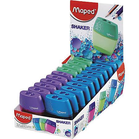 Helix Shaker 2-hole Pencil Sharpener - 2 Hole(s) - Assorted