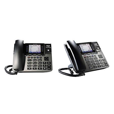 RCA By Telefield Unison DECT 6.0 Desk Set Bundle With Digital Answering System, RCA-U1B1D0HS