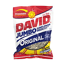 David Jumbo Sunflower Seed Pouches Original