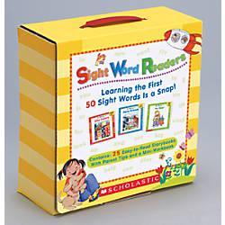 Scholastic Sight Word Readers Parent