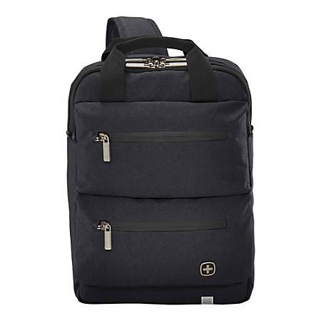 8e727401ce2d Wenger CityMove Laptop Laptop Backpack Black - Office Depot