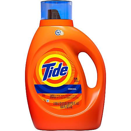 Tide Liquid Laundry Detergent - Liquid - 0.78 gal (99.75 fl oz) - Original Scent - Orange