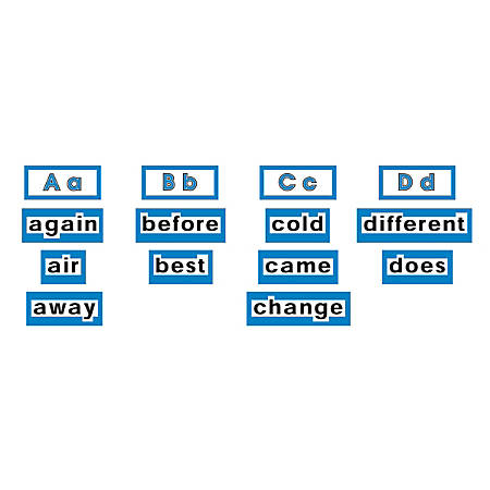 """Scholastic Word Wall Word Cards — High Frequency Words, Level 2, 8 1/2"""" x 11"""", Pack Of 120 Words"""