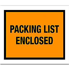 Office Depot Brand Packing List Enclosed