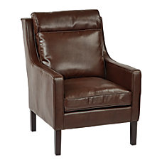Ave Six Colson Bonded Leather Accent