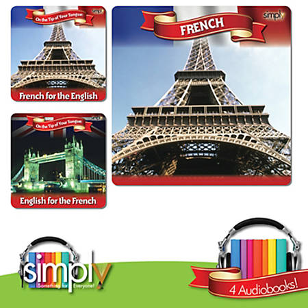 Learn French the Easy Way Audiobook: 3 Title Collection, Download Version