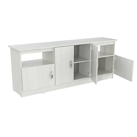 """Inval TV Stand For TVs Up to 60"""", Laricina White"""