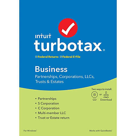 TurboTax® 2019, Business Federal EFile, Download