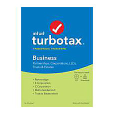 TurboTax 2019 Business Federal EFile Download