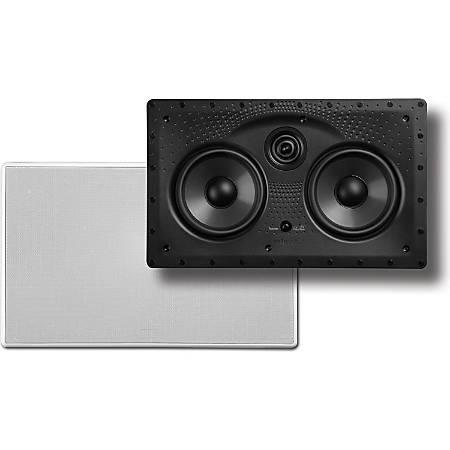 Polk Audio 55c-LS Vanishing LS Series In-Wall Center-Channel Speaker, White, 255CLS