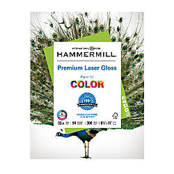 Hammermill Color Gloss Laser Paper 8