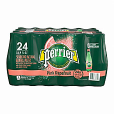 Perrier Flavored Sparkling Mineral Water Pink
