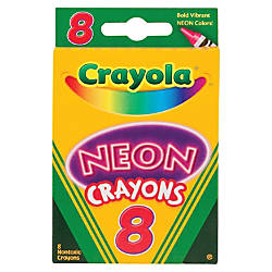 Crayola Neon Crayons Carnation Pink Sky