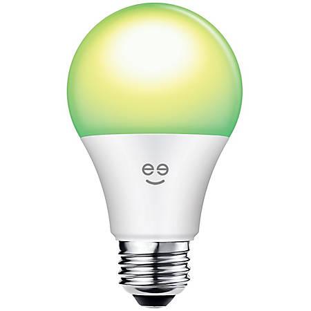 Geeni PRISMA 450 Warm White/Multicolor A19 Smart Wi-Fi LED Light Bulb, 6.5 Watts