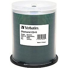 Verbatim CD R 700MB 52X Diamond